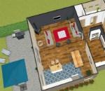 agencer soi m me sa maison en 3d plan de maison en 3d. Black Bedroom Furniture Sets. Home Design Ideas