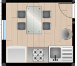 plans de cuisine en ligne et gratuits en 2d plans en 2d. Black Bedroom Furniture Sets. Home Design Ideas