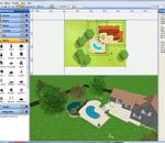 dessiner un plan de jardin gratuitement en 2d plans en 2d. Black Bedroom Furniture Sets. Home Design Ideas