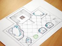 Faire Le Plan De Sa Salle De Bains Gratuitement Design - Plan salle de bains en ligne