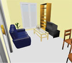 dessiner son s jour en 3d plan de salon en 3d. Black Bedroom Furniture Sets. Home Design Ideas